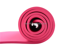 china natural rubber with PU leather yoga mat