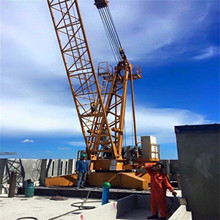 25tons 200m height Roof Construction Lifting Crane in Indonesia