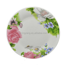nice pretty porcelain plate dishes,dishes and plates,white porcelain peacock fruit dish