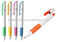 Hot Sale Mini Cheap Plastic Super Portable Pocket Colorful Cute Scool Kids Office Ball Pen with Clip for promotion
