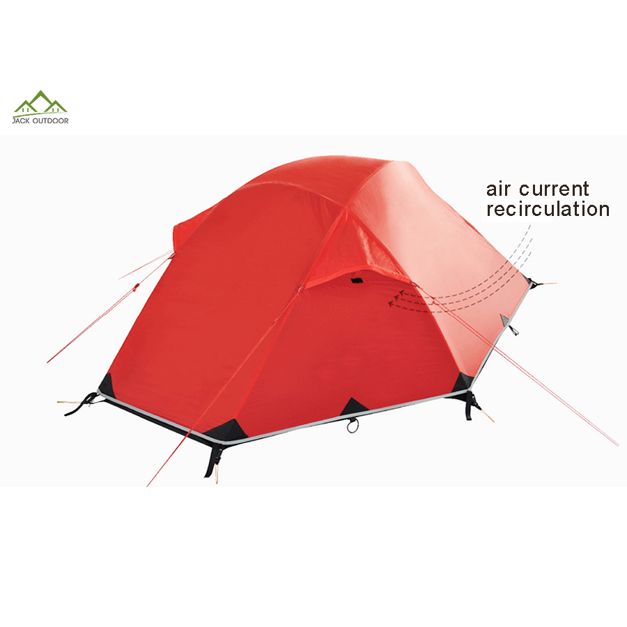 Wholesale 4 Season Double Layers Rainproof Cloud Up Two Men Ultra Light Back Packing Lightweight Camping Tent