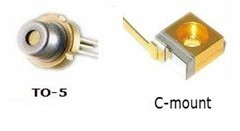 TO-5 C-Mount Package High Power 1000mw 1w 808nm Laser diode