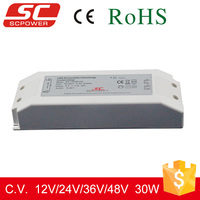 30W 12V DALI led light power supply for indoor using