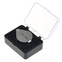 Mini 30 x 21mm Jewellers Loupe Magnifier, Eye Magnifying Glass for Jewelry