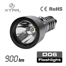 XTAR D06 XM-L2 U2 Hard-anodized LED Diving Flashlight Torch 1000 Lumens Kit with battery