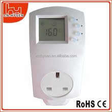 China Cheap Easy Control Heating Panel Plug In Thermostat