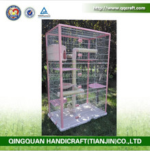 QQ Pet Factory Wholesale Laboratory Animal Cage Panels & Large Metal Pet Cat Cages