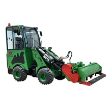 30-40hp chinese tractor garden transporter M910 wheel loader