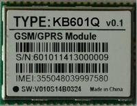 GSM850/EGSM900/DCS1800/PCS1900 GSM/GPRS Module, PPP/TCP/IP/USSD GSM/GPRS Module in Wireless connection way, KB601Q
