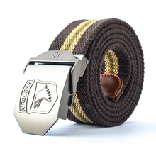 Wholesale Canvas Pin Buckle Belt With Factory Direct Price