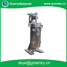 GF125 tubular centrifuge used in oil-water separation for engine oil and fuel oil