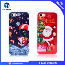 Christmas Carnival Red Mobile Phone Plastic Case Cover for iPhone 6 Plus