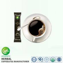 Lifeworth Hot selling organic instant green coffee beans extract black coffee with factory price