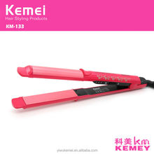 KM-133-1Negative ion hair ceramic panel no heat hair straightener