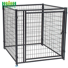 China Factory Wholesale Black Color Pet Dog Kennels Cages House