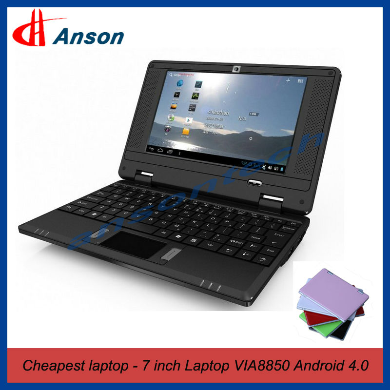 "Cute 7"" VIA8850 Android OS Kinds Of Laptops"