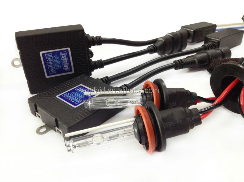 OEM factory wholesale car interior accessories 12V/35W H8 4300K mini ballast auto kit car ac