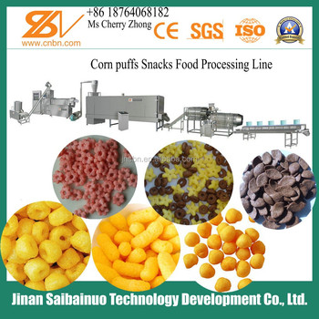 Buy Corn Snacks Cereals Food machine