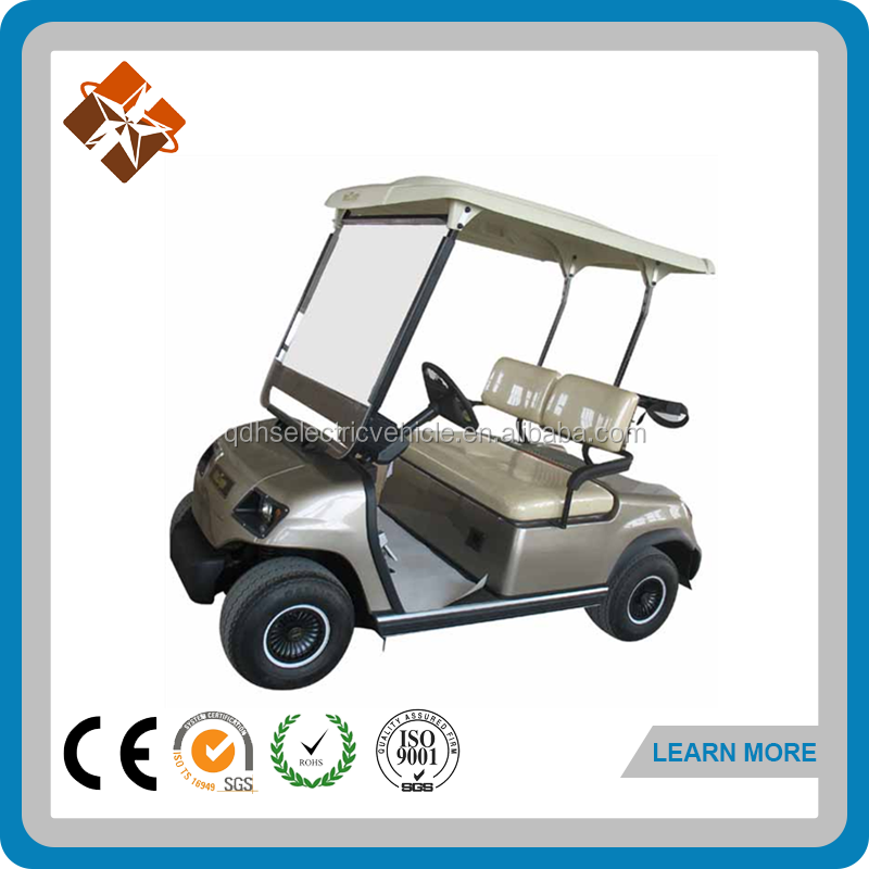 china manufacturer electric cars 2 seater golf cart mini