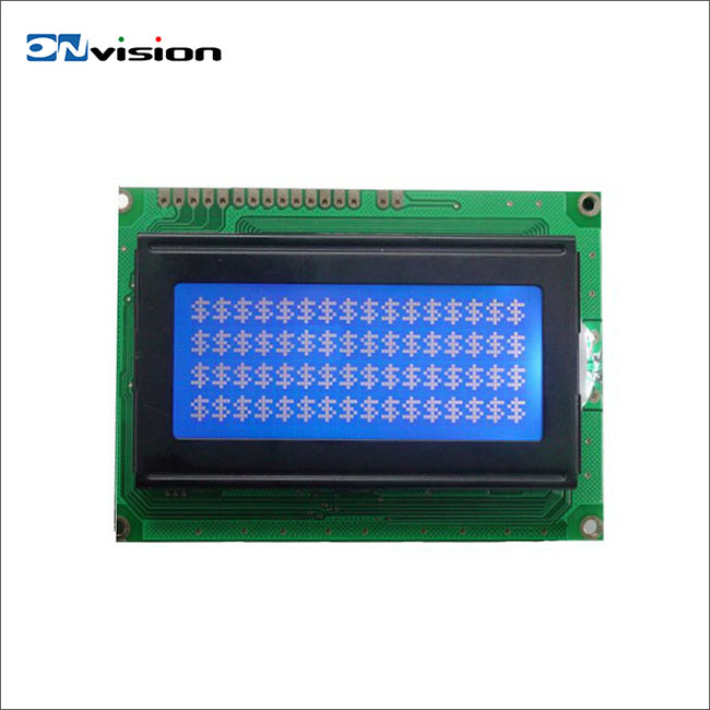 All size custom used in equipment character monochrome small lcd display module