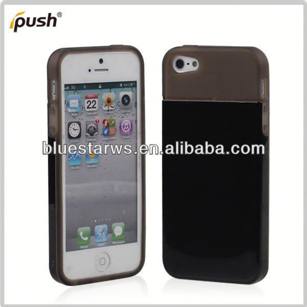 TPU/PC Cover for iphone5 Combo Hybrid Rubber PC Bumper TPU Case For Apple iPhone5