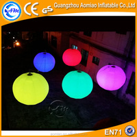 Lovely led inflatable decoration inflatable led balloon light