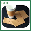 hot paper coffee cup sleeve insulated kraft coffee hot cup sleeve 12oz paper coffee cups and sleeves