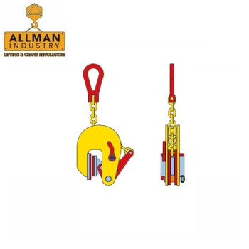 ALLMAN Europe design 1000kg Vertical Type Stainless Steel Plate Lifting Clamp