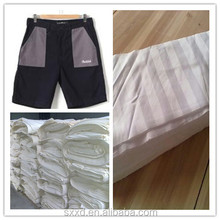 T/C 90/10 45*45 110*76 bleached fabric for pocket lining