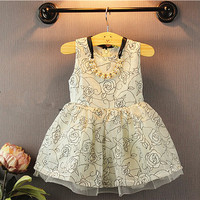 Girls Dress Korea Baby Girl Hand Embroidery Designs Small Baby Frocks Images