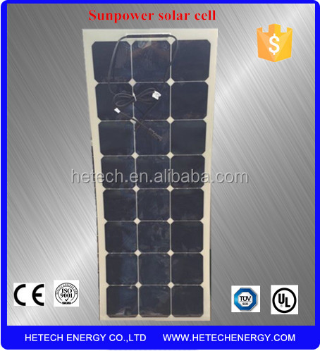 flexible amorphous silicon 80W thin film solar panel manufacturers in china