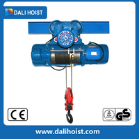 Power hoist 8t electric wire rope hoist crane with three phase motor