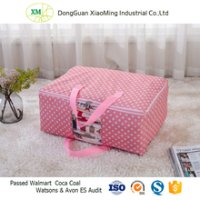 Custom Dustproof 600D Polyester Large Storage bags with zipper for Bedroom