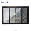 Miami Dade Code standards aluminum window manufacturer translucent glass high quality aluminium sliding windows