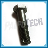 GB/T 31.3 Carbon Steel Blacking Hexagon Bolts with Split Pin Hole on Shank