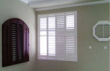 PVC foam extruded exterior plantation shutters made in China for sale