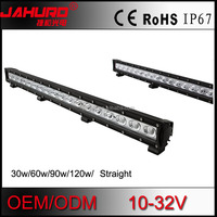 wholesale led bar light for car 120w 12v waterproof super slim led light bar on car roof and bull bar