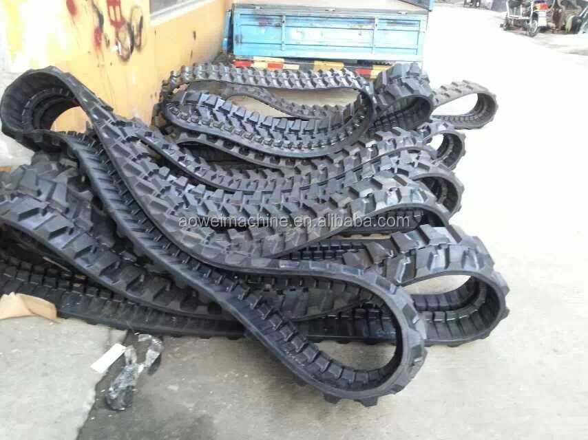 Rubber track for excavator of Takeuchi,Hitachi,Daewoo,Hyundai,Kobelco,Hanix,Kubota,Kato for 250mm,300mm,400mm,450mm,500mm,600mm,