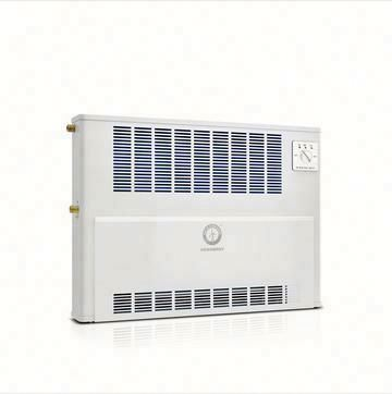 Cassette hydronic fancoil unit ceiling central air conditioning HVAC fan coil unit