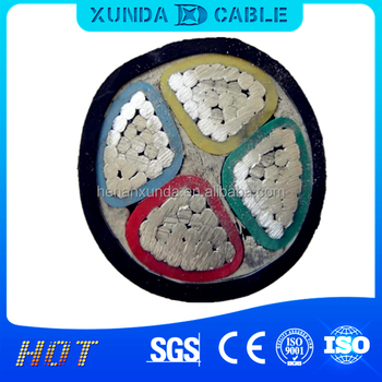 YJLV22/YJLV/YJV,Aluminum/Copper Core Xlpe Insulation Cable,Power Station,Underground,Construction