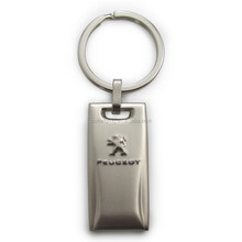 automobile motorcycle brand logo key chain with key ring