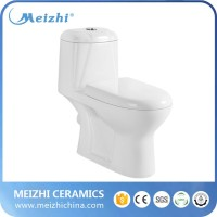 Economical Washdown one piece overhead toilet