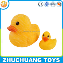 custom wholesale bulk giant weighted floating rubber ducks