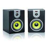 Gold alibaba china best selling Dual 5 inch Active Powered Studio Monitor speakers