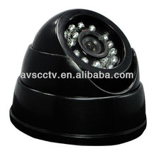 Good night vision function 20m infrared IR Led 600TVL CMOS CCD DOME Camera with LED