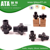 socket ending upvc swing check valve water pipes & fittings