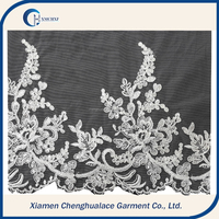 China popular new design embroidery lace