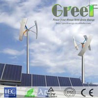 NEW arrival! 500W domestic vertical axis wind turbine ,self generating power system