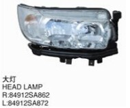 For subaru forester 2006-2008 headlight/front grille