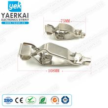 108mm large alligator clip,100A battery clip with screw being popular